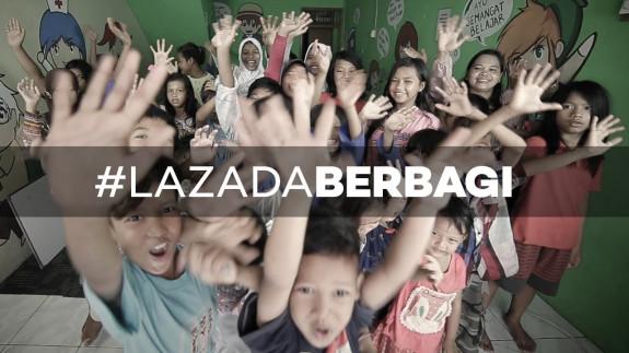 #LazadaBerbagi dengan Sahabat Anak
