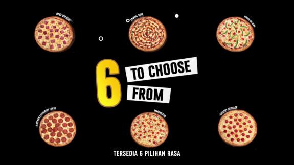 Domino's Pizza Murah Setiap Hari